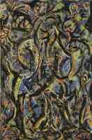 jackson pollock abstract expressionist gothic