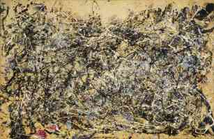 jackson pollock abstract expressionist number 1a 1948