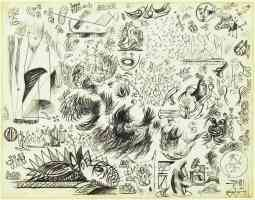 jackson pollock abstract expressionist sheet of studies