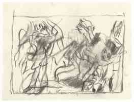 willem de kooning abstract expressionist untitled 3