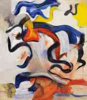 willem de kooning abstract expressionist untitled v