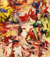 willem de kooning abstract expressionist untitled xix