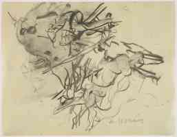 willem de kooning abstract expressionist untitled