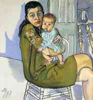 alice neel expressionist nancy and olivia