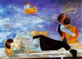 ben shahn expressionist amusement park