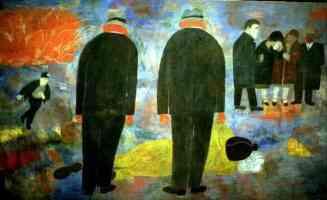 ben shahn expressionist death of a miner