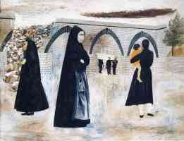 ben shahn expressionist italian landscape