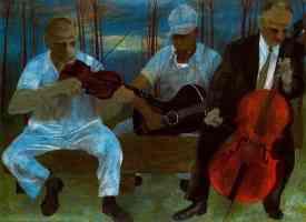 ben shahn expressionist orchestra of four instruments