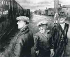 ben shahn expressionist scotts run west virginia