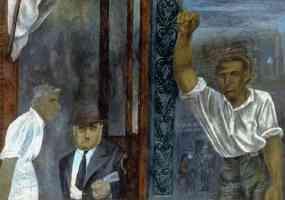 ben shahn expressionist three men