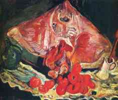 chaim soutine expressionist still life with rayfish