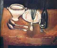 chaim soutine expressionist still life with soup tureen