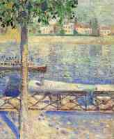 edvard munch expressionist boat on lake