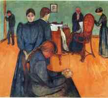 edvard munch expressionist death in the sick room