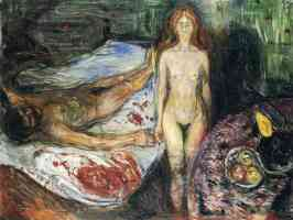 edvard munch expressionist death of marat
