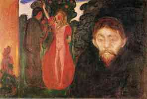 edvard munch expressionist jealousy