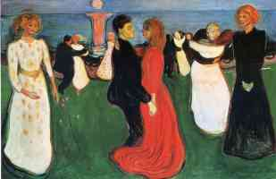 edvard munch expressionist the dance of life