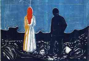 edvard munch expressionist the solitary