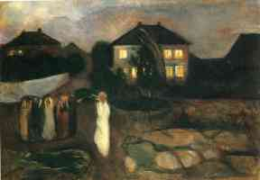 edvard munch expressionist the storm