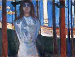 edvard munch expressionist the voice