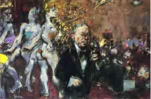 jack levine expressionist orpheus in vegas