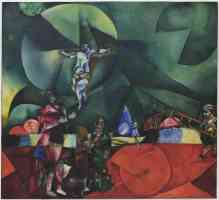 marc chagall expressionist calvary