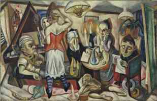 max beckmann expressionist family picture