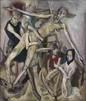 max beckmann expressionist the descent from the cross