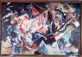 wassily kandinsky expressionist composition 6