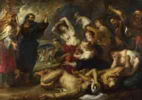 peter paul rubens flemish baroque the brazen serpent
