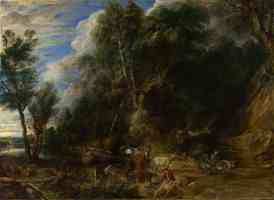 peter paul rubens flemish baroque the watering place