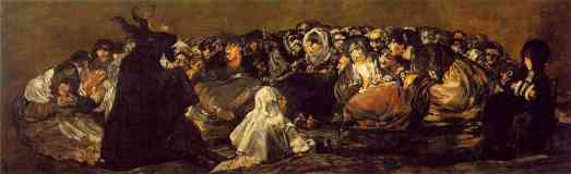 black paintings francisco goya witches sabbath