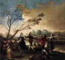 paintings francisco goya dance of the majos at the banks of manzanares