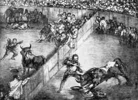 the bulls of bordeaux francisco goya plaza game