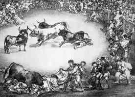 the bulls of bordeaux francisco goya spanish diversion