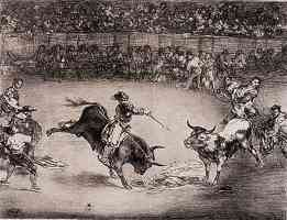 the bulls of bordeaux francisco goya the famous american mariano ceballos