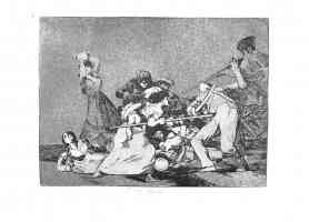 the disasters of war francisco goya fierce women attacking soldiers
