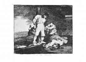 the disasters of war francisco goya prisoners of war killed by firing squad
