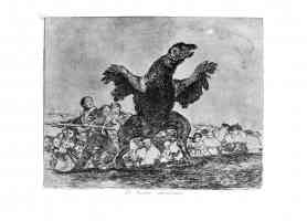 the disasters of war francisco goya the flesh eating vulture