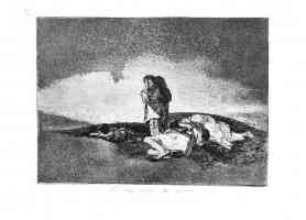 the disasters of war francisco goya there is no one to help them