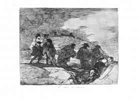 the disasters of war francisco goya they do not know the way