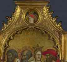 giovanni dal ponte gothic saints raphael and tobias roundel above right panel