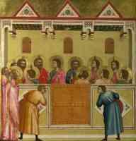 gothic masters gothic giotto di bondone pentecost