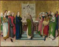 gothic masters gothic master of the life of the virgin the presentation in the temple