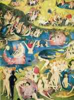 hieronymus bosch gothic the garden of earthly delights ecclesias paradise 2