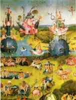 hieronymus bosch gothic the garden of earthly delights ecclesias paradise