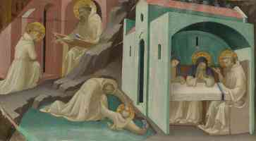 lorenzo monaco gothic incidents in the life of saint benedict
