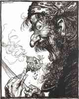 arthur rackham illustration mother goose a little nothing woman