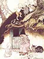 arthur rackham illustration old woman lived under a hill