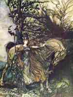 arthur rackham illustration wagners ring of the nibelung 27